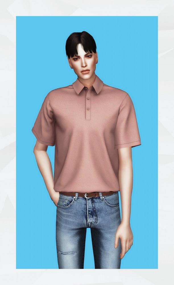 Sims 4 Polo Shirt (Remake) at Gorilla