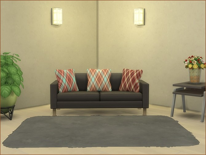 Plaid Print Cushions by oumamea at Mod The Sims image 16315 670x503 Sims 4 Updates