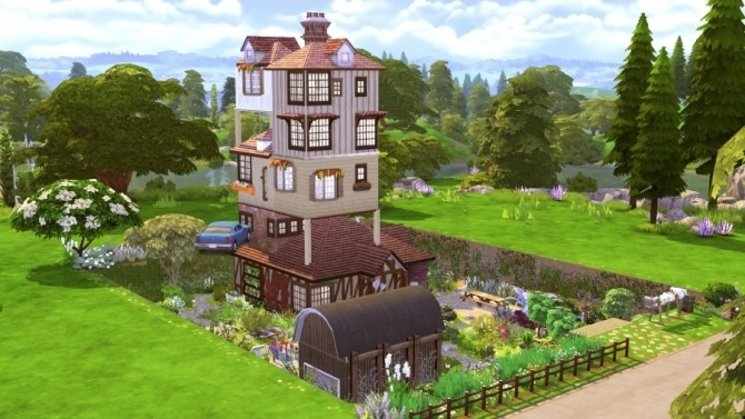 Sims 4 Le Terrier by Bloup at Sims Artists