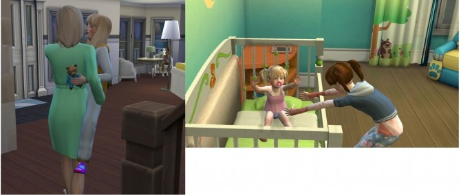 Child can care for Toddlers and Child can be Carried by A MOD by Sofmc9 at Mod The Sims image 16412 670x284 Sims 4 Updates