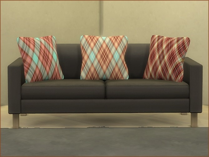 Plaid Print Cushions by oumamea at Mod The Sims image 16513 670x503 Sims 4 Updates
