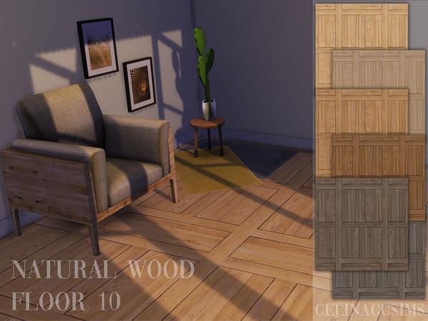 Sims 4 Natural Wood Floor 10 at Celinaccsims