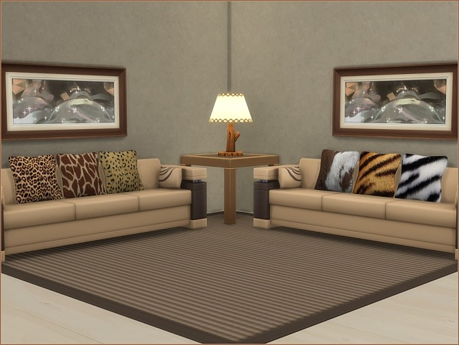 Animal Print Cushions by oumamea at Mod The Sims image 16811 670x503 Sims 4 Updates