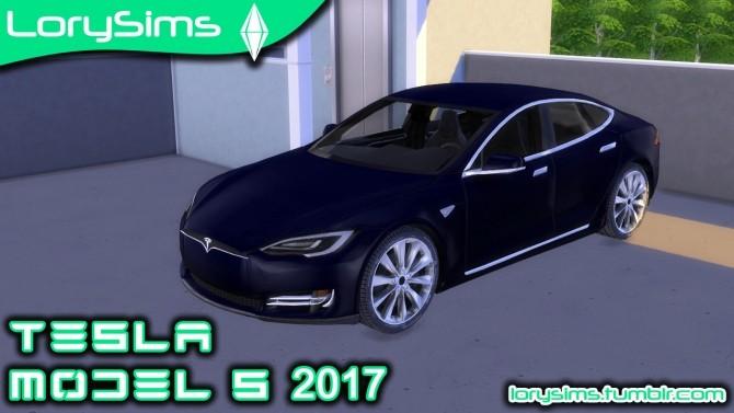 Tesla Model S 2017 at LorySims image 1686 670x377 Sims 4 Updates