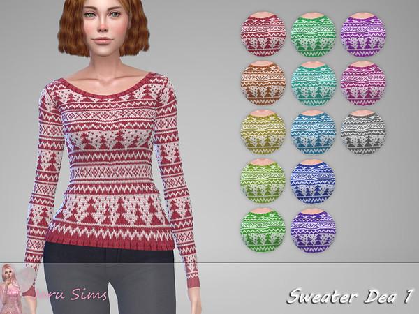 Sims 4 Sweater Dea 1 by Jaru Sims at TSR