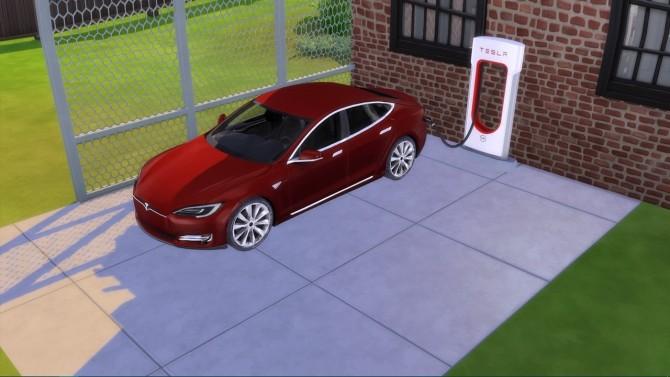 Tesla Model S 2017 at LorySims image 1696 670x377 Sims 4 Updates