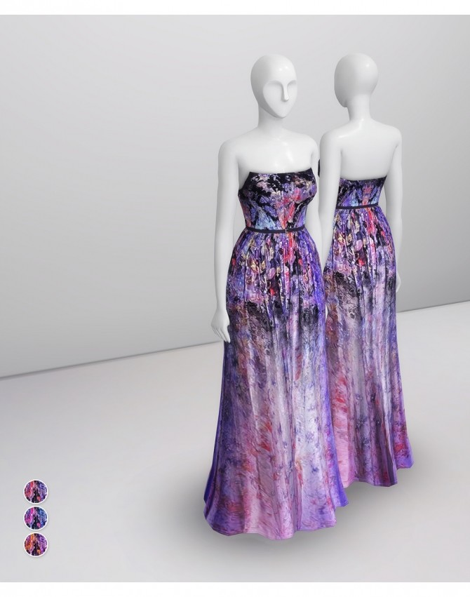 2014 Couture Collection II 2 gown at Rusty Nail image 17012 670x851 Sims 4 Updates