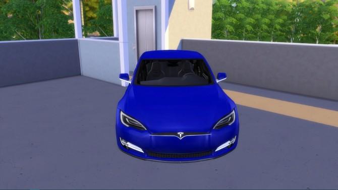 Tesla Model S 2017 at LorySims image 17111 670x377 Sims 4 Updates