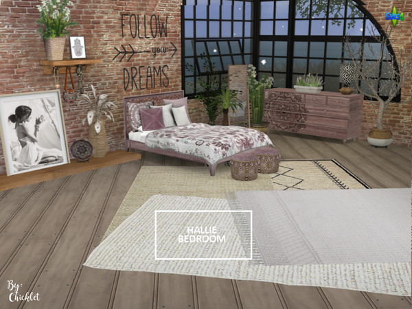 Hallie Bedroom by Chicklet453681 at TSR image 1717 Sims 4 Updates