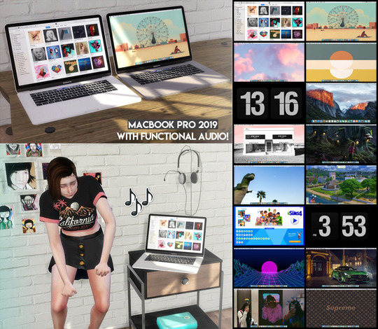 Sims 4 MacBook Pro 2019 with functional audio at Descargas Sims
