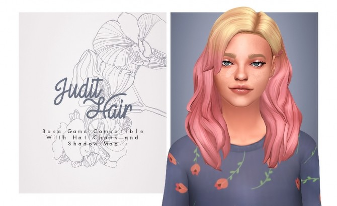 Judit Hair   Mercy's All Star Skin hair at Isjao – working on uni image 1743 670x410 Sims 4 Updates