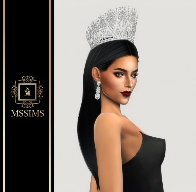 Sims 4 MISS UNIVERSE THAILAND 2016 CROWN (P) at MSSIMS