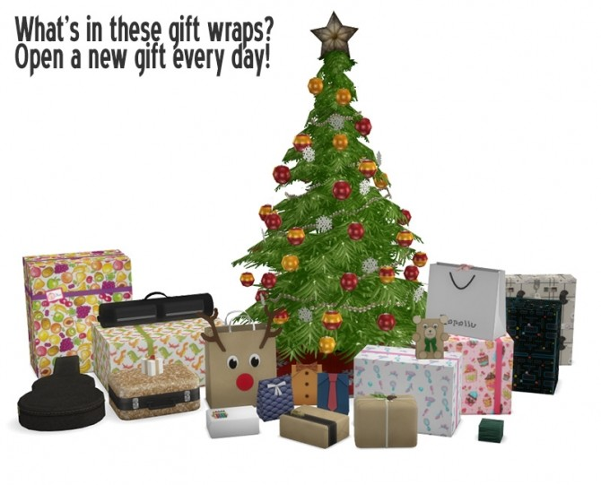 Sims 4 Advent Calendar 2019   New gifts to download every day! at Around the Sims 4