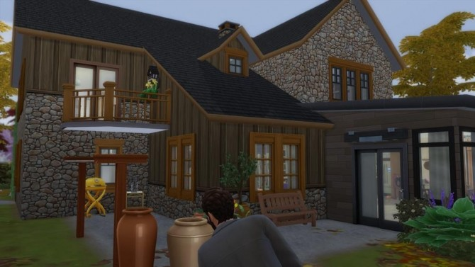 Sous Les Feuilles house by Tom Matthew at L'UniverSims image 177 670x377 Sims 4 Updates