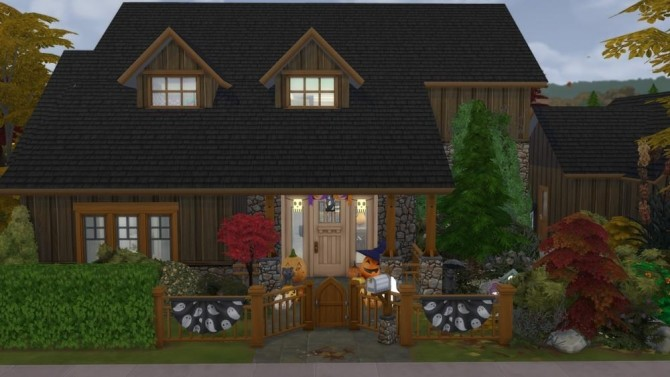 Sous Les Feuilles house by Tom Matthew at L'UniverSims image 178 670x377 Sims 4 Updates