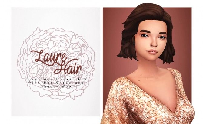 Laure short wild hair at Isjao – working on uni image 1836 670x410 Sims 4 Updates