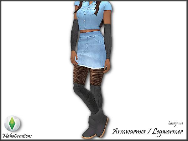Sims 4 Arm warmer by MahoCreations at TSR
