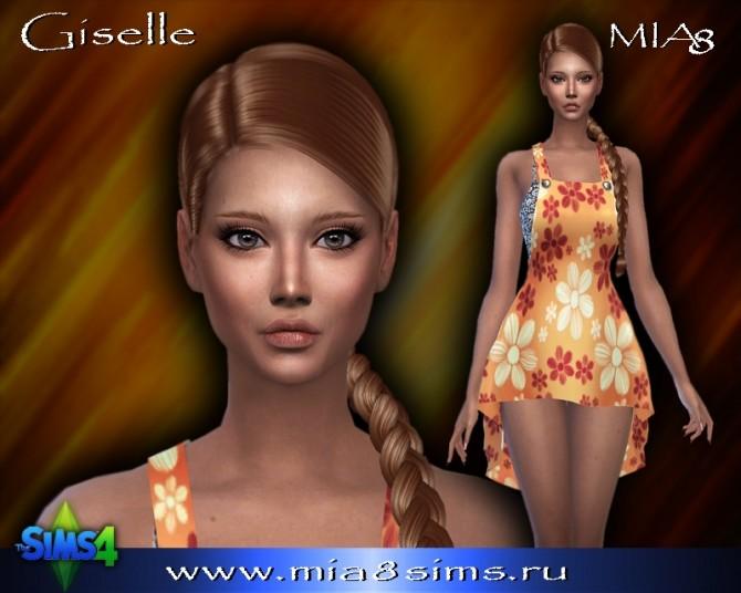 Sims 4 Giselle at Mia8Sims