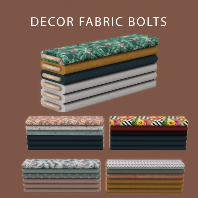 Sims 4 Fabric Bolts at Leo Sims