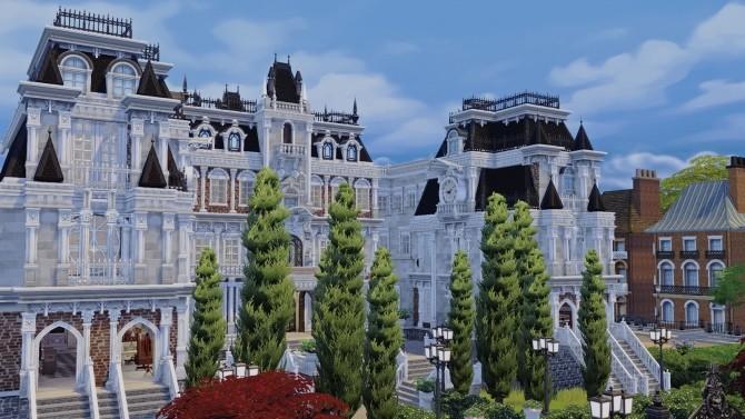 Sims 4 Britechester Library at Akai Sims – kaibellvert