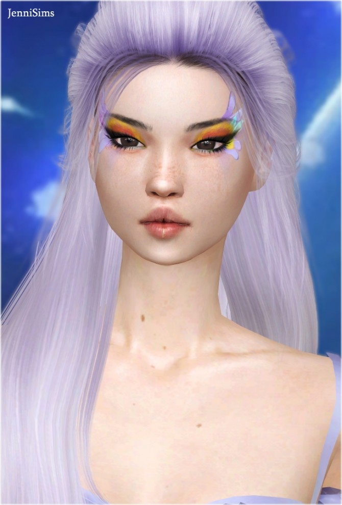 Sims 4 Eyeshadow Echos Of Winter 10 Swatches at Jenni Sims