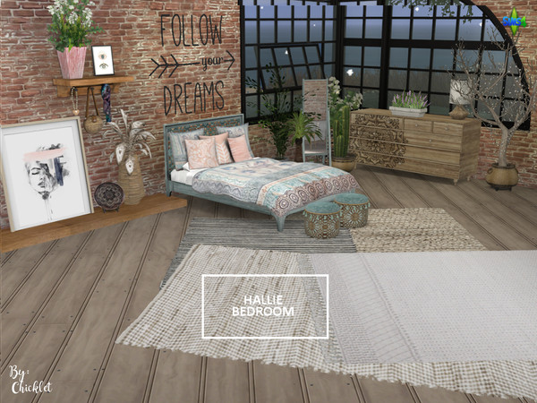 Hallie Bedroom by Chicklet453681 at TSR image 1917 Sims 4 Updates