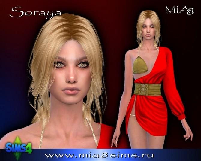 Sims 4 Soraya at Mia8Sims