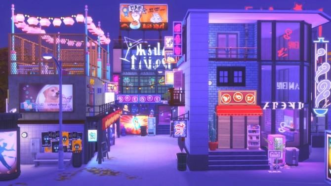 Sims 4 Downtown Nightclub at GravySims