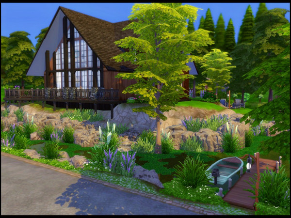On The Lake house by sparky at TSR image 2 Sims 4 Updates