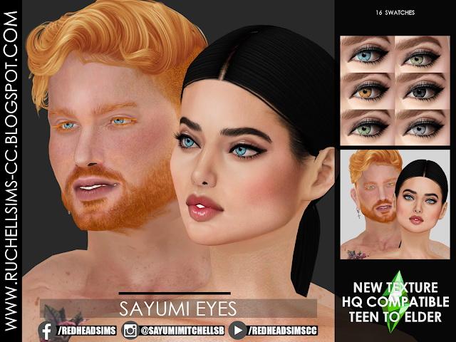 SAYUMI EYES at Ruchell Sims image 2066 Sims 4 Updates