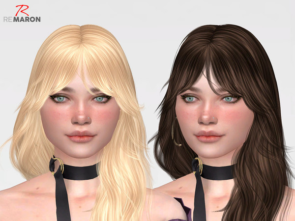 Sims 4 ON1020 Hair Retexture by remaron at TSR