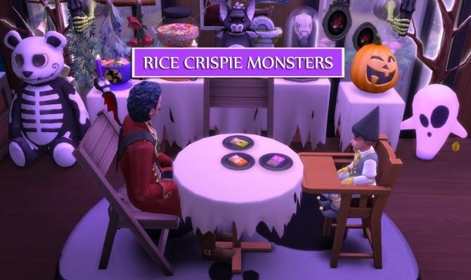 Sims 4 RICE CRISPIE MONSTERS at Icemunmun