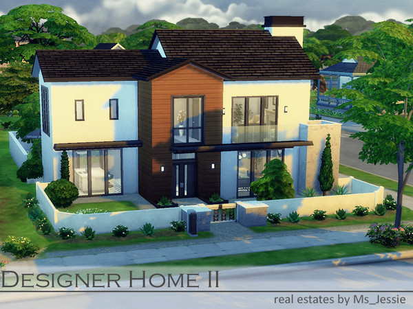 Designer Home II by Ms Jessie at TSR image 2127 Sims 4 Updates