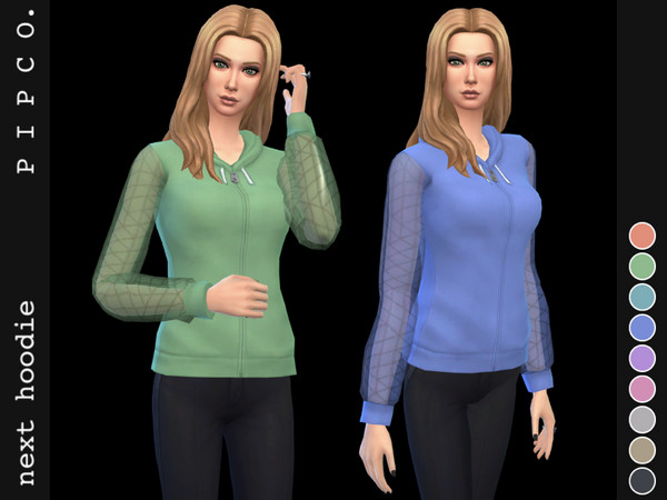 Sims 4 Next hoodie by Pipco at TSR