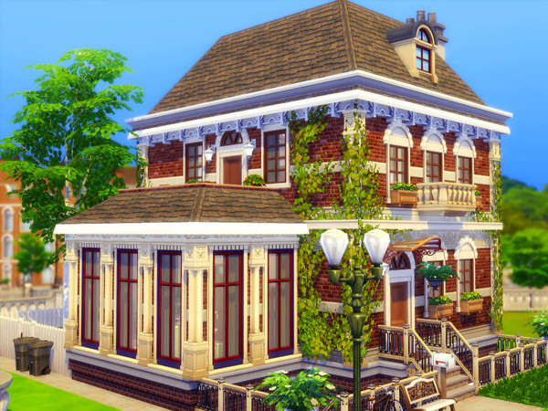 Sims 4 Pleasant House by sharon337 at TSR