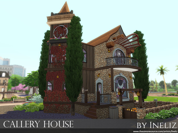 Callery House by Ineliz at TSR image 2168 Sims 4 Updates