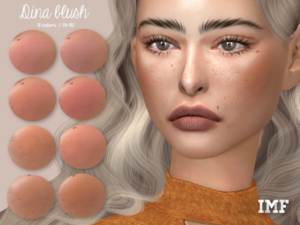 Sims 4 IMF Dina Blush N.44 by IzzieMcFire at TSR