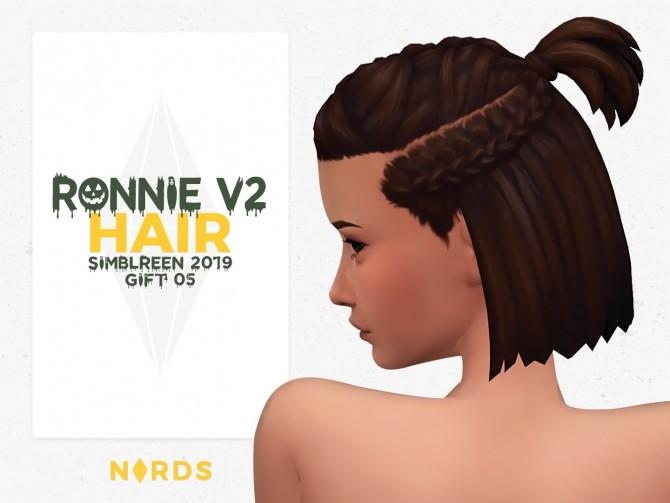 Sims 4 Ronnie V2 Hair at Nords Sims
