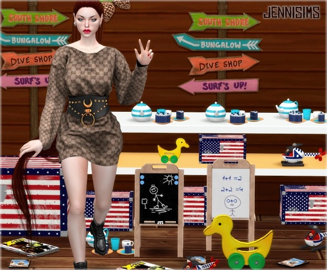 Sims 4 Clutter Decorative 8 Items at Jenni Sims
