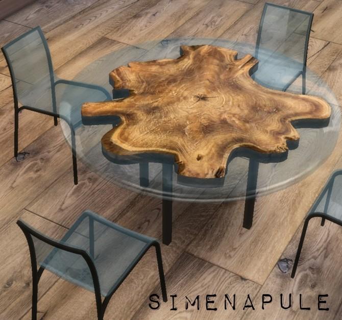 Sims 4 Sagona Table by Ronja at Simenapule
