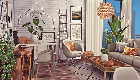 1312, 21 Chic Street Apartment by Sooky at Blooming Rosy image 2321 Sims 4 Updates