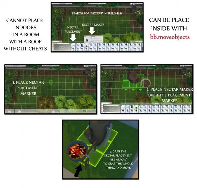 Sims 4 NECTAR MAKING at Icemunmun