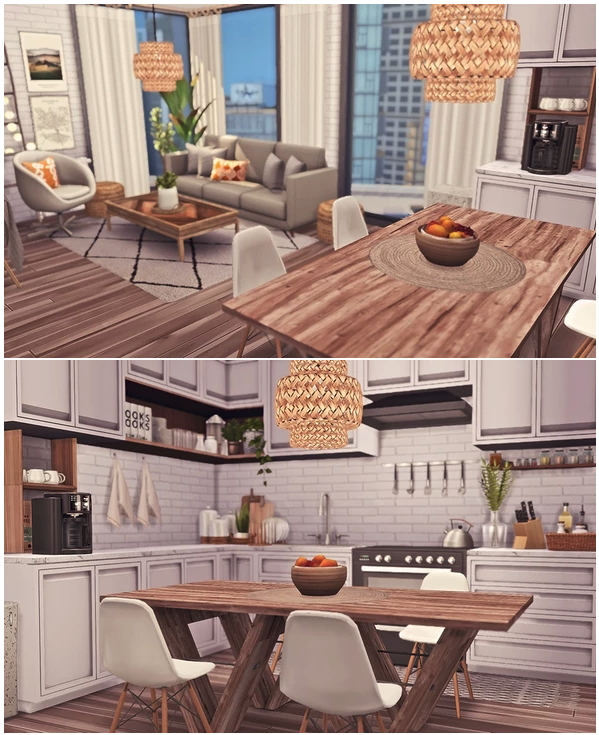 1312, 21 Chic Street Apartment by Sooky at Blooming Rosy image 2341 Sims 4 Updates