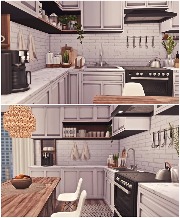 1312, 21 Chic Street Apartment by Sooky at Blooming Rosy image 2351 Sims 4 Updates