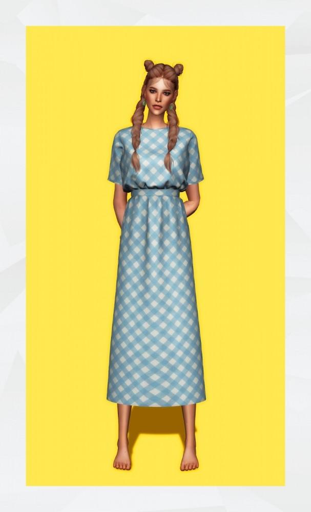 Sims 4 Damaris Dress at Gorilla