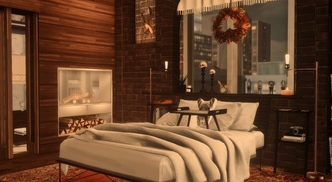80 | AUTUMN BLISS 122 HAKIM HOUSE at SoulSisterSims image 241 670x367 Sims 4 Updates