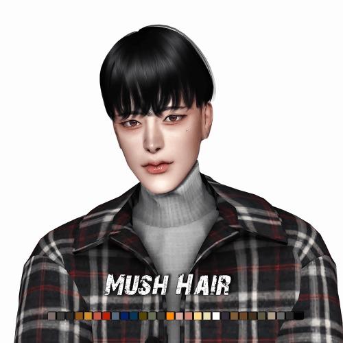 Mush Hair at Lemon Sims 4 image 242 1 Sims 4 Updates