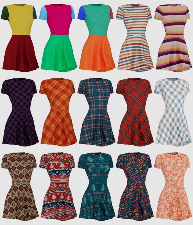 Sims 4 Nina Dress at Daisy Pixels