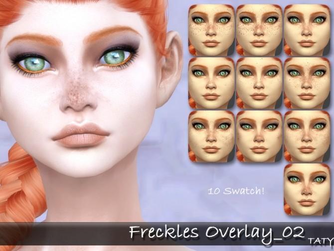 Freckles overlay 02 at Taty – Eámanë Palantír image 2481 670x503 Sims 4 Updates