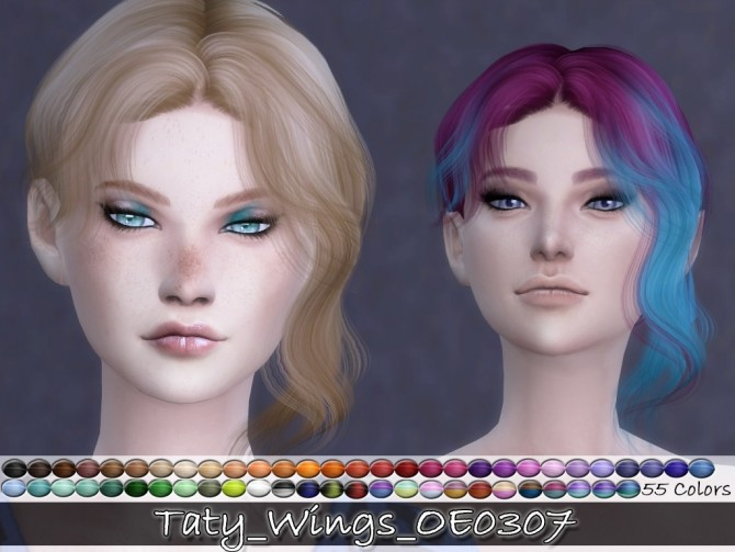 WINGS OE0307 hair retexture at Taty – Eámanë Palantír image 2501 670x503 Sims 4 Updates